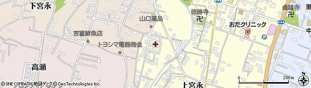 大分県中津市上宮永1258周辺の地図