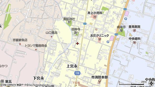大分県中津市上宮永1072周辺の地図