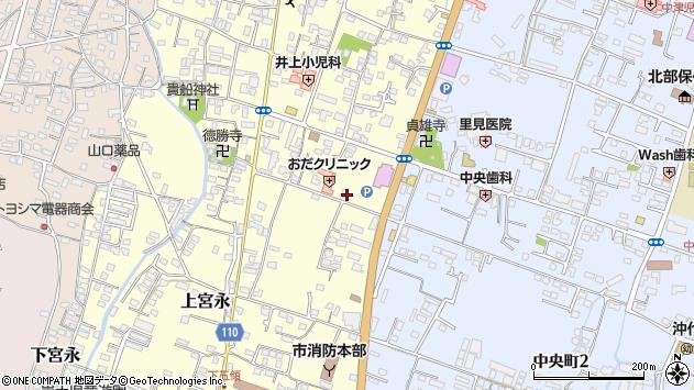 大分県中津市上宮永269周辺の地図