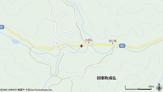大分県国東市国東町成仏3124周辺の地図