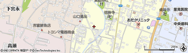 大分県中津市上宮永1236周辺の地図