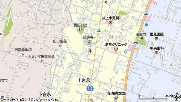 大分県中津市上宮永1076周辺の地図