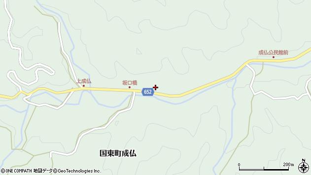 大分県国東市国東町成仏1973周辺の地図
