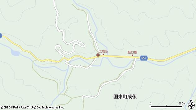大分県国東市国東町成仏3116周辺の地図