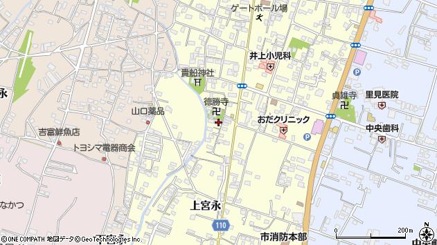 大分県中津市上宮永1085周辺の地図