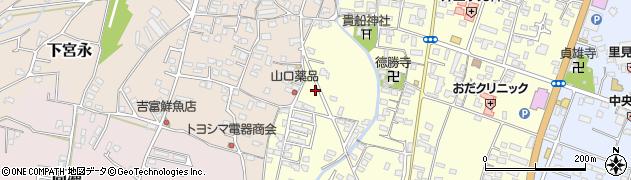 大分県中津市上宮永1210周辺の地図