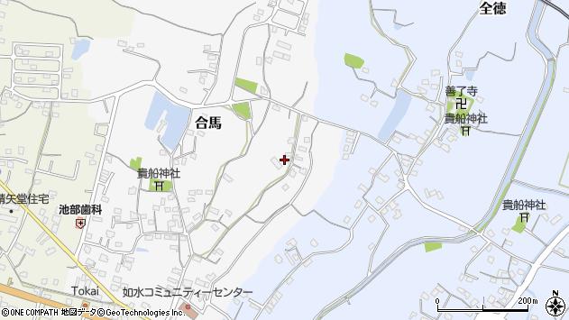 大分県中津市合馬37周辺の地図