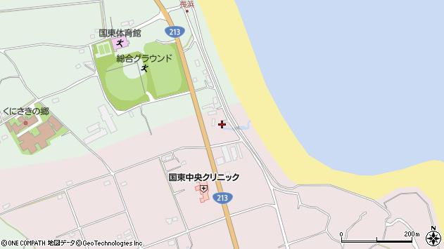 大分県国東市国東町北江2677周辺の地図