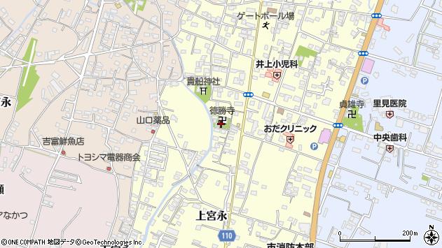 大分県中津市上宮永1090周辺の地図
