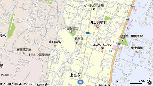 大分県中津市上宮永1091周辺の地図