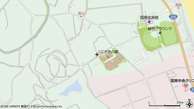 大分県国東市国東町浜崎2777周辺の地図