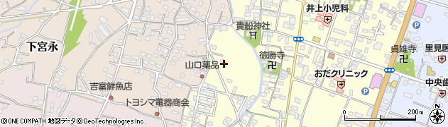 大分県中津市上宮永1209周辺の地図