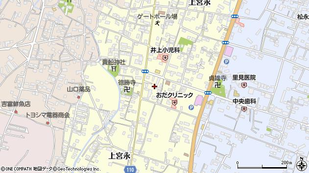 大分県中津市上宮永955周辺の地図