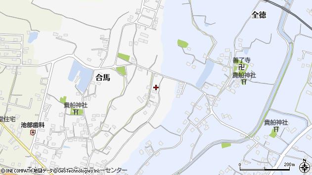 大分県中津市合馬85周辺の地図