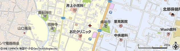 大分県中津市上宮永256周辺の地図