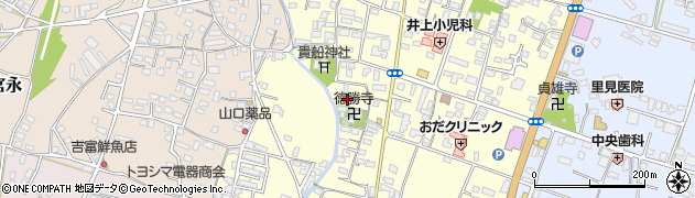 大分県中津市上宮永1102周辺の地図