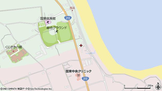 大分県国東市国東町浜崎2676周辺の地図