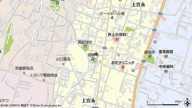 大分県中津市上宮永1101周辺の地図