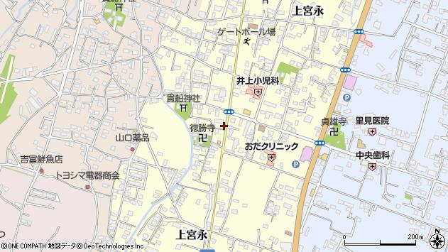 大分県中津市上宮永1112周辺の地図