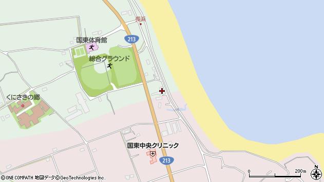 大分県国東市国東町浜崎2603周辺の地図