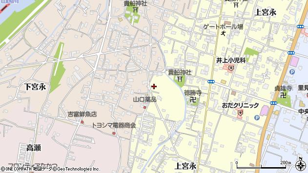 大分県中津市上宮永1207周辺の地図