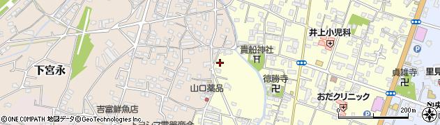 大分県中津市上宮永1201周辺の地図