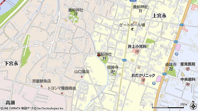 大分県中津市上宮永1139周辺の地図