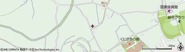 大分県国東市国東町浜崎2818周辺の地図