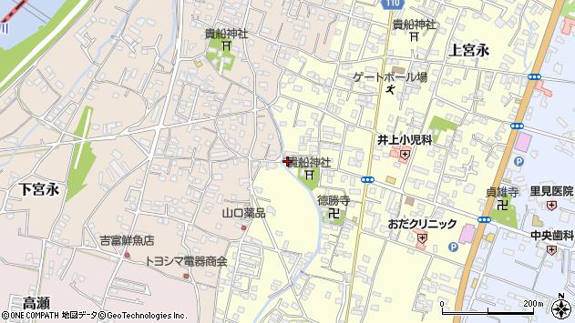 大分県中津市上宮永1140周辺の地図