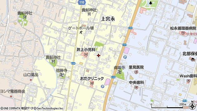 大分県中津市上宮永238周辺の地図