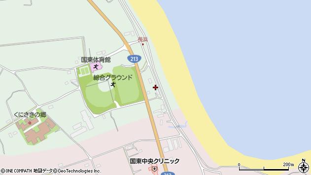 大分県国東市国東町浜崎2605周辺の地図