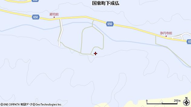 大分県国東市国東町下成仏1785周辺の地図