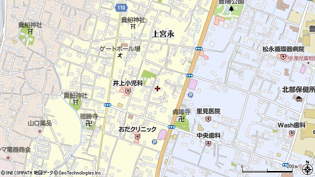 大分県中津市上宮永202周辺の地図