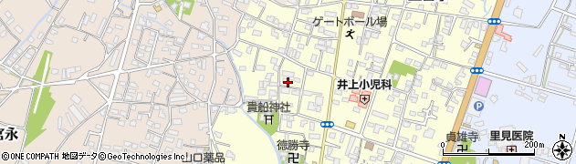 大分県中津市上宮永1154周辺の地図
