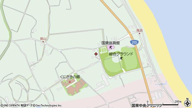 大分県国東市国東町浜崎2512周辺の地図