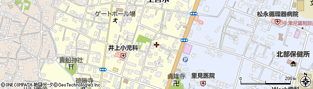 大分県中津市上宮永250周辺の地図