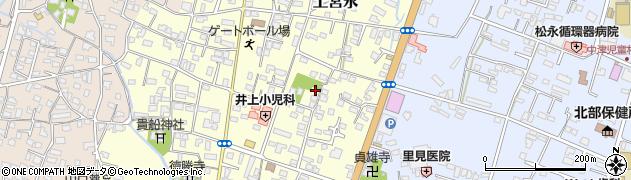 大分県中津市上宮永234周辺の地図