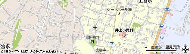 大分県中津市上宮永1150周辺の地図