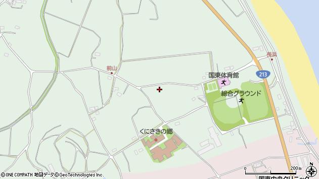 大分県国東市国東町浜崎2509周辺の地図