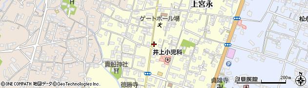 大分県中津市上宮永16周辺の地図