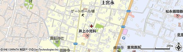 大分県中津市上宮永19周辺の地図