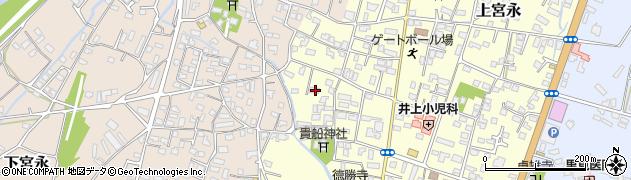 大分県中津市上宮永1158周辺の地図