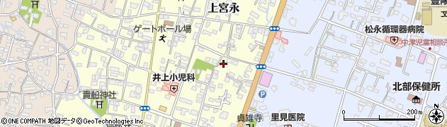 大分県中津市上宮永207周辺の地図