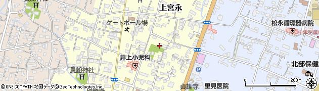 大分県中津市上宮永225周辺の地図