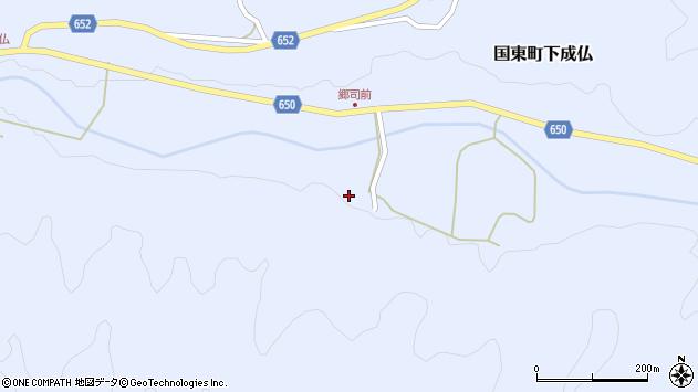 大分県国東市国東町下成仏2123周辺の地図