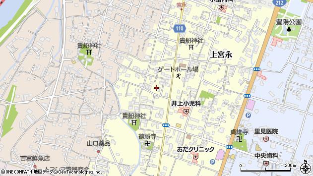 大分県中津市上宮永34周辺の地図