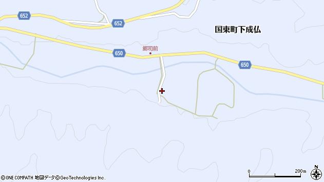 大分県国東市国東町下成仏2139周辺の地図