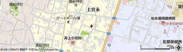 大分県中津市上宮永217周辺の地図