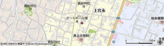 大分県中津市上宮永23周辺の地図
