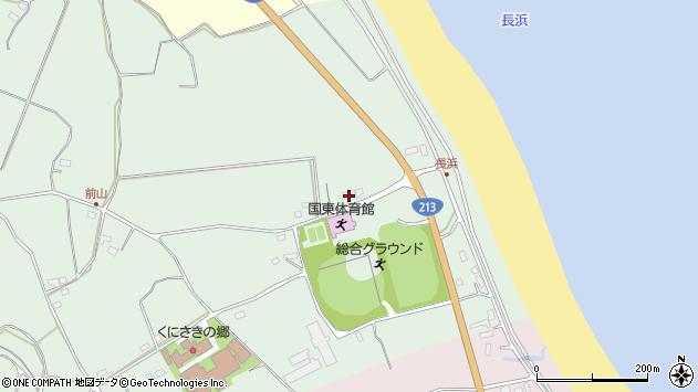 大分県国東市国東町浜崎2563周辺の地図